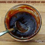 How to Can Your Own Sweet & Spicy Barbecue Sauce with Free Printable Label via Juggling Act Mama ~ http://www.jugglingactmama.com/2013/08/how-to-can-your-own-sweet-spicy.html