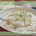 Garlic and Herb Feta Mashed Potatoes