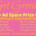 Get Growing Giveaway – Ad Space Prize Pack – July