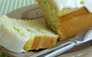 Mini Lemon Zucchini Bread with Lemon Glaze