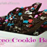 Oreo Cookie Bark