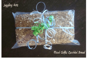Food Gifts: Zucchini Bread with Sweet & Nutty Topping