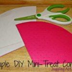 Simple DIY Mini-Treat Cones