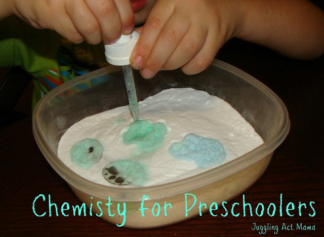 Chemistry for Preschoolers