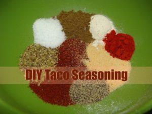 Homemade Mild Taco Seasoning