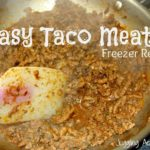 Easy Taco Meat via Juggling Act Mama