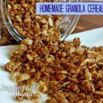 Homemade Granola Cereal via Juggling Act Mama