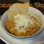 Crockpot: Mexican Chicken Stoup