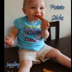 Sweet Potato Sticks for My Sweetie