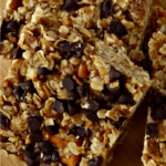 Chocolate Pretzel Granola Bars – Peanut Free