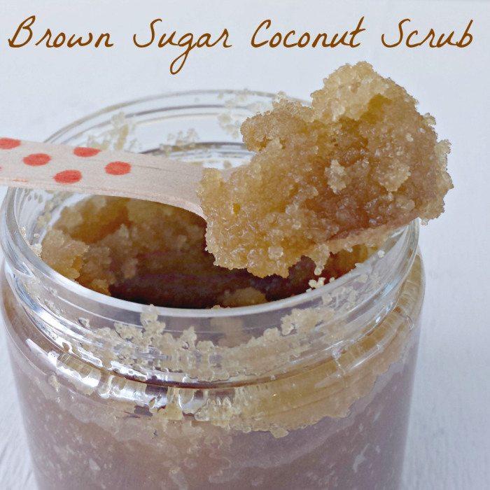 Brown Sugar Coconut Oil Scrub via Miss Information