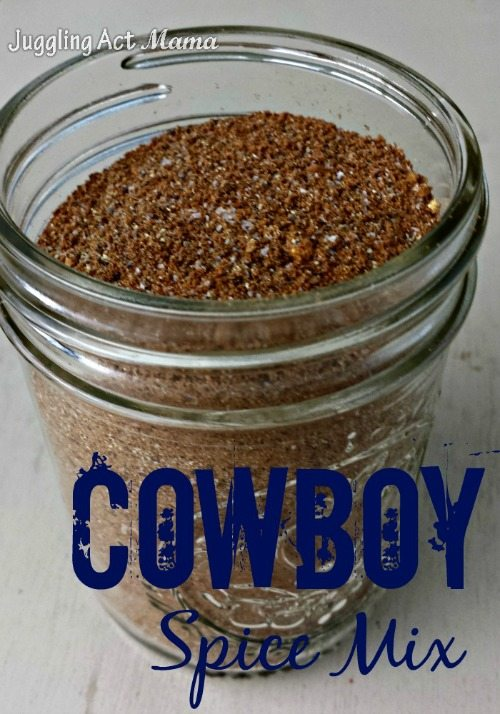 Cowboy Spice Mix from Juggling Act Mama as seen on Miss Information