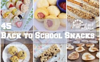 45 Back to School Snacks