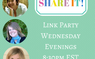 Cook it Craft it Share it Link Party Wednesday Evenings8-30pm EST