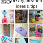 25 Back to School DIY Organization Ideas