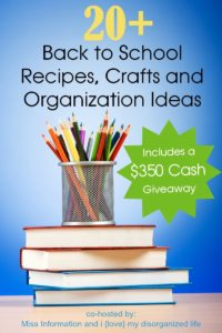 Back to School $350 Cash Giveaway