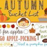 Autumn Bucket List 2014