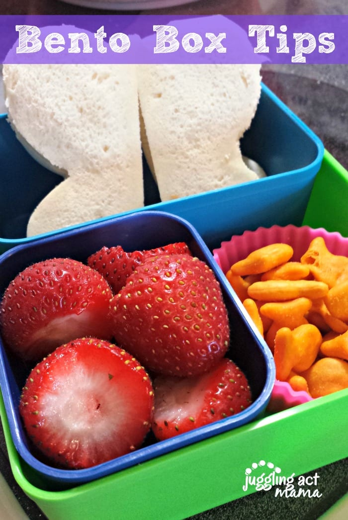 Bento Box Tips from Juggling Act Mama - #keepitsimple