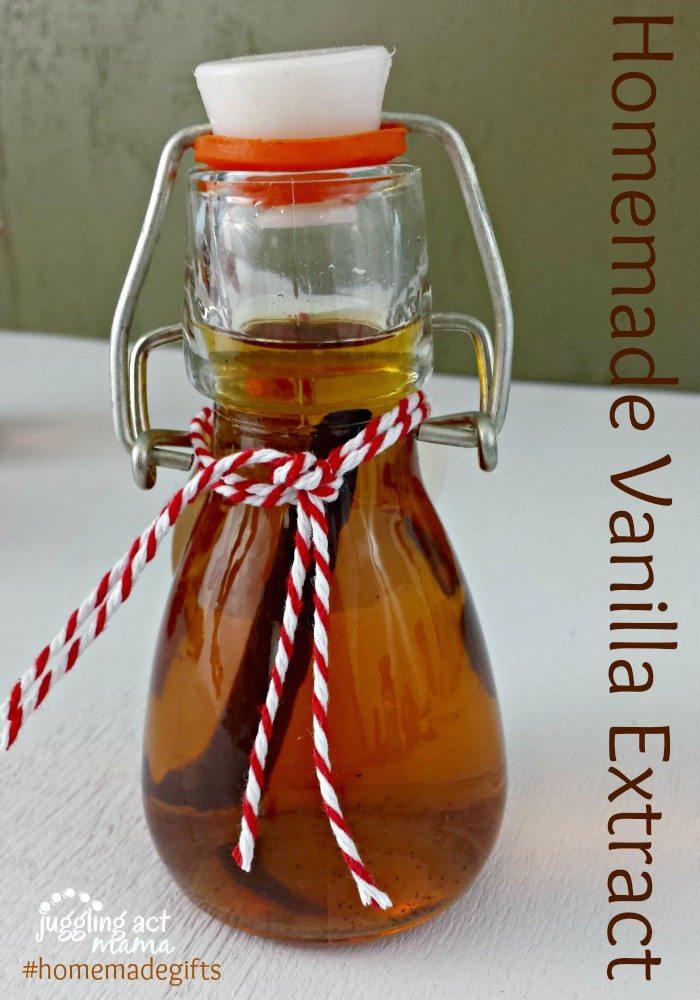 Homemade Gifts Vanilla Exttract