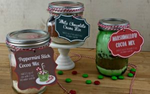 Hot Cocoa Mix – Three Ways #homemadegifts