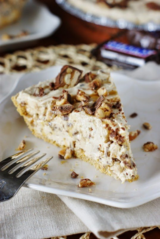 Snicker Bar Pie