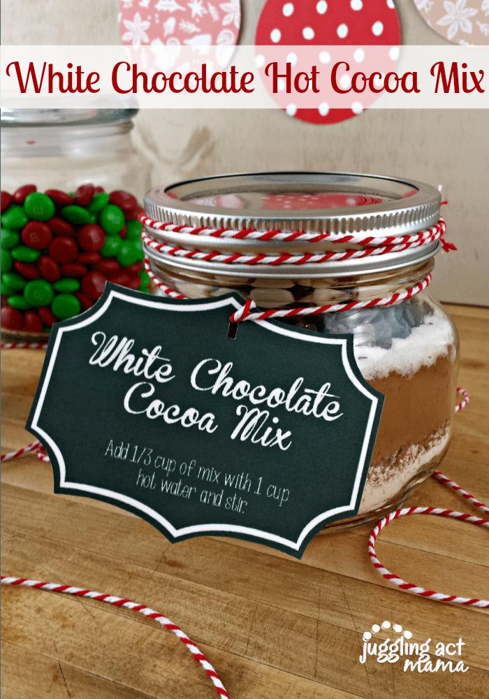 White Chocolate Hot Cocoa Mix