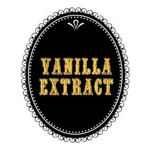 homemade vanila extract printable label