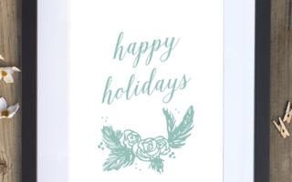 Festive Holiday Prints