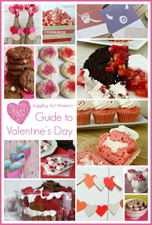 Juggling Act Mama's Guide to Valentine's Day