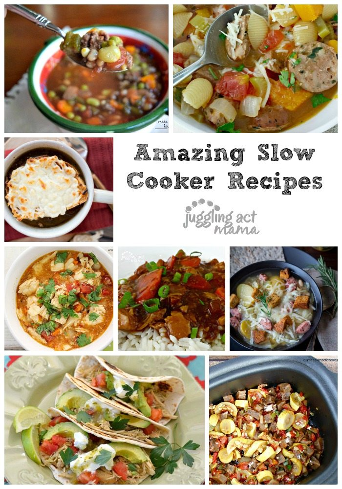 50 amazing slow cooker recipes - juggling act mama