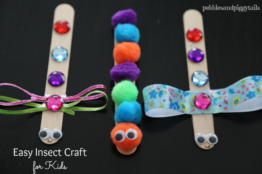 Easy Bug craft for kids
