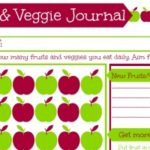 Healthy Eating for Kids – Free Printable Fruit and Vegetable Checklist