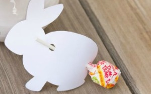 Simple Easter Treat with Printable Bunny Template