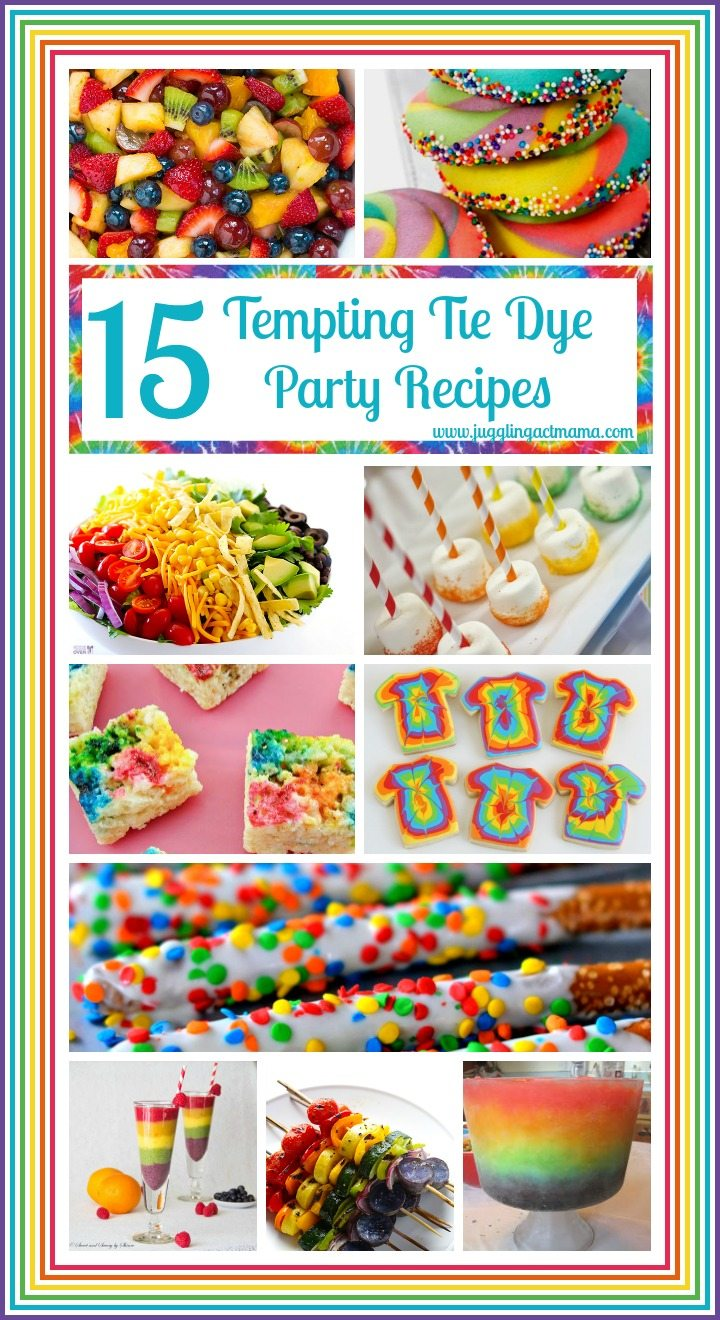 15 Tempting Tie Dye Recipes