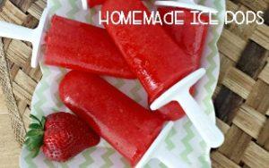 Homemade Ice Pops with Oakhurst