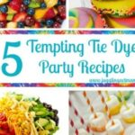 15 Tempting Tie Dye Party Recipes