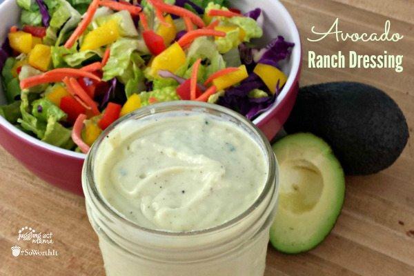 Avacado Ranch Dressing
