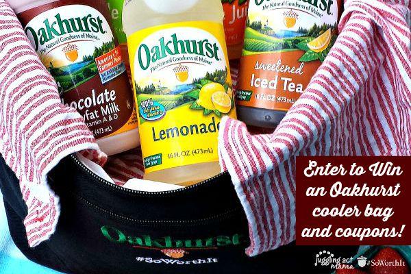 Enter to win an Oakhurst Cooler bag prize pack