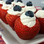 Patriotic Berries and Cream