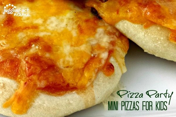 Pizza Party - Mini Pizzas for Kids