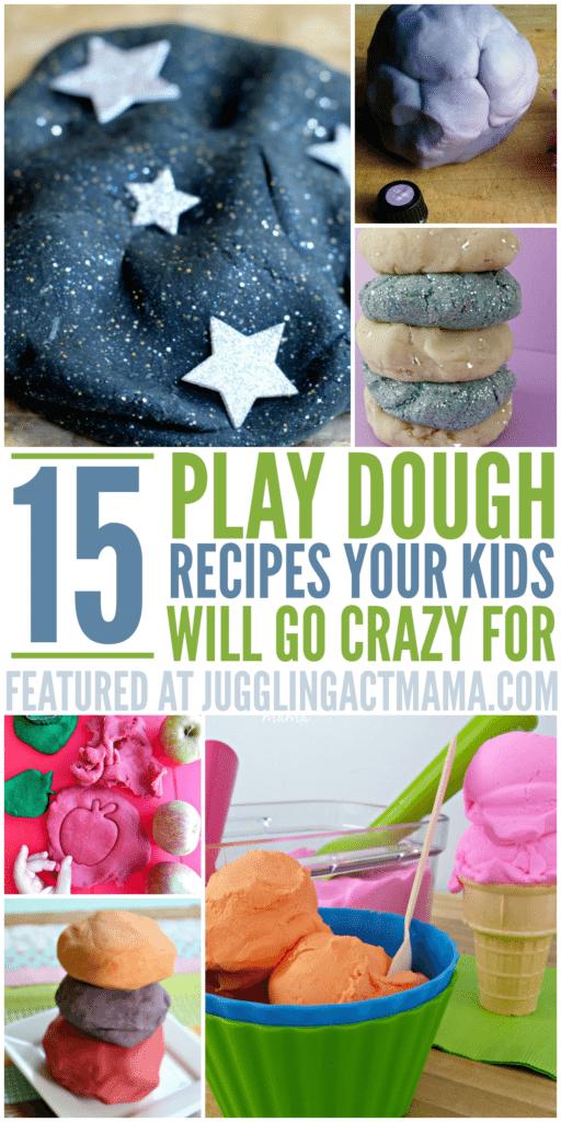 25 Homemade PlayDough Recipes