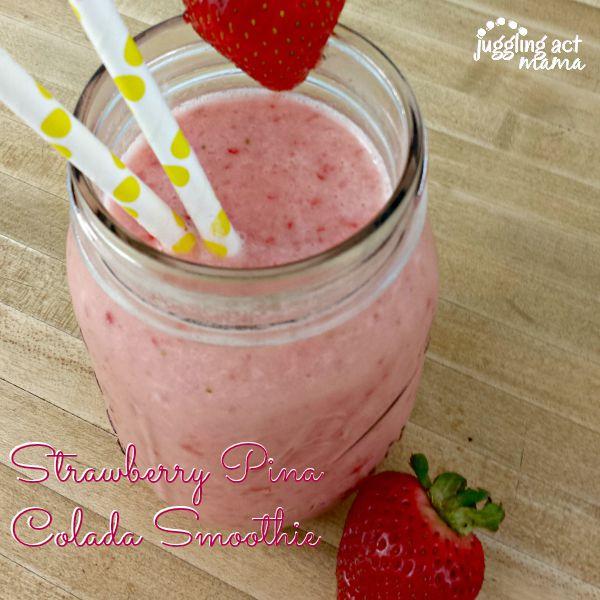 Strawberry Pina Colada Smoothie