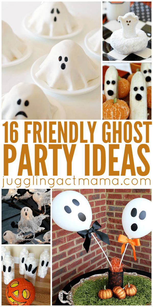 Cute Ghost Party Ideas