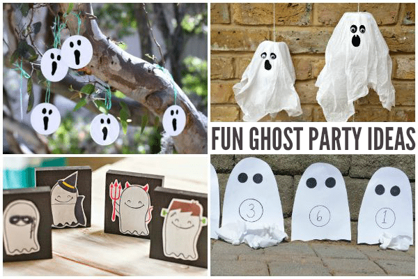Not-so-spooky Ghost Party Ideas