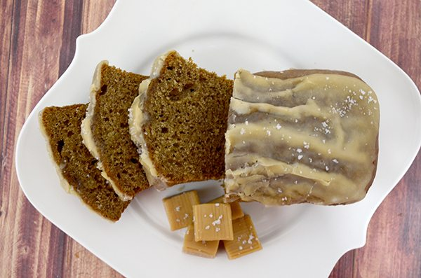 Salted Caramel Banana Bread