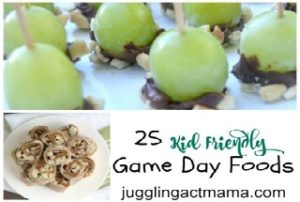25 Kid Friendly Game Day Foods