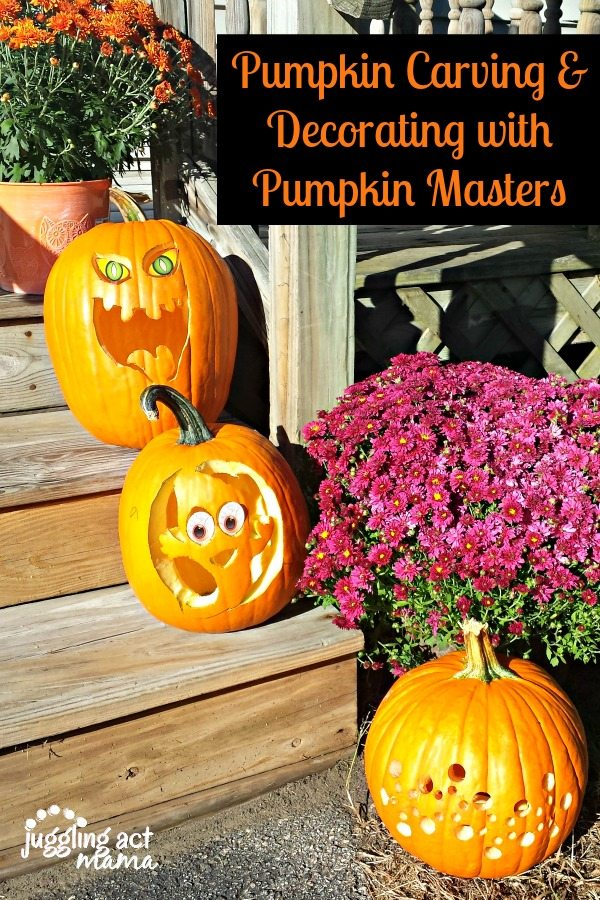 Pumpkin Carving and Decorating with Pumpkin Masters