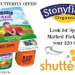 Stonyfield and Shutterfly