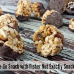 On-the-Go Snack with Fisher Nut Exactly Snack Bites