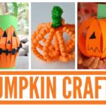 Pumpkin Parade: 20 Fun Pumpkin Crafts